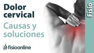 De la espalda espalda dolor cuello parte severo la de hasta baja desde el
