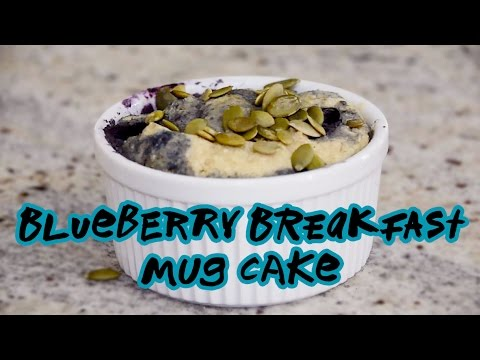 Blueberry Breakfast Mug Cake Recipe   Nuts.com