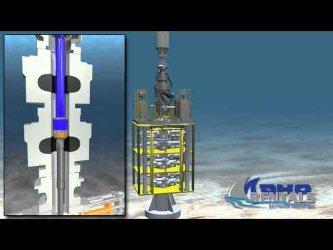 Mako Maptool Rentals Deepwater Drilling 3D Animation