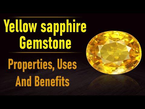 Yellow Sapphire Gemstone: Properties, Uses And Benefits - www.rudraksha-ratna.com
