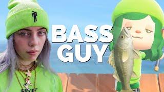 BASS GUY | Animal Crossing Parody | Girlfriend Reviews