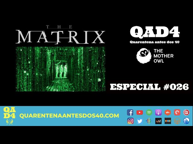 #084 - O que esperamos de Matrix 4, com The Mother Owl! (Especial #026)