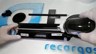 Como recarregar o Toner HP CF230A 30A   M203 M227 M203DW M203DN M227FDW M227SDN
