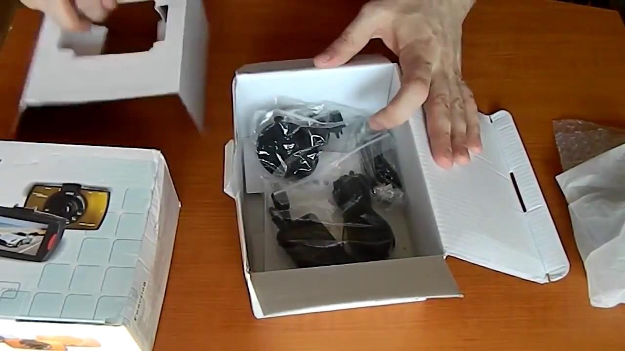 Автомобильный видеорегистратор ,тест Vehicle DVR HD 720P - YouTube