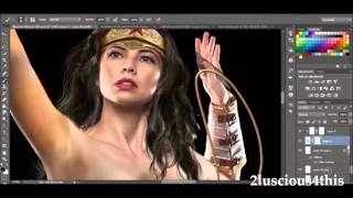 WONDER WOMAN 2015 NATTI JR ft WILL of VALUFA [UNOFFICIAL VIDEO]