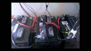 Home made Solar power System