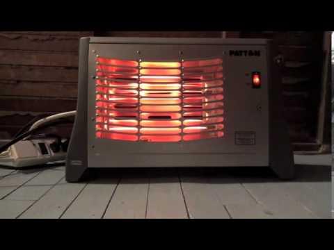 Space Heater Yule Log