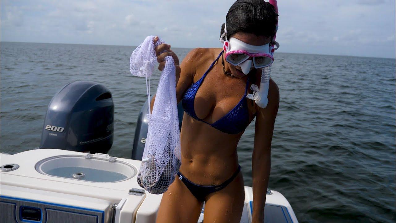 UNDERWATER Adventure - SCALLOPING in Florida