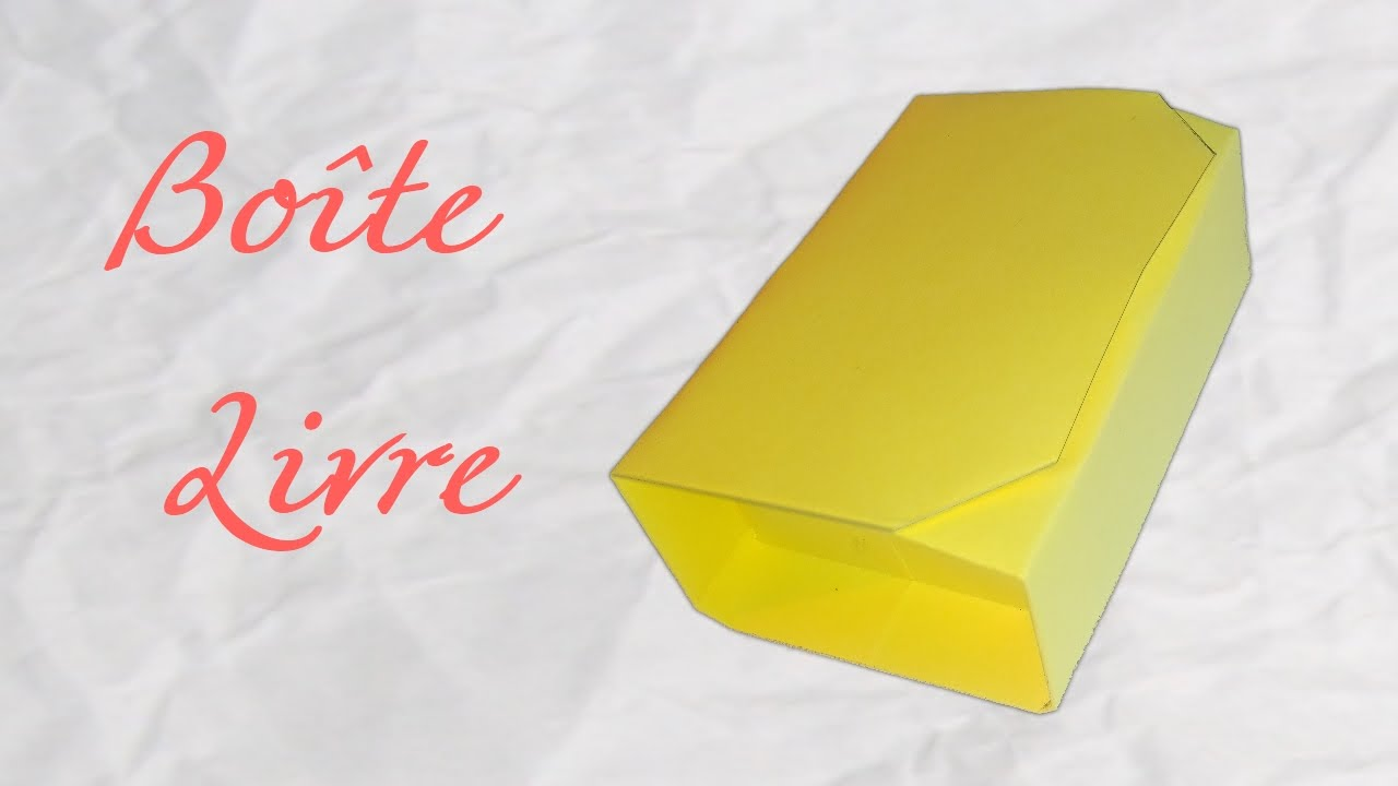 Origami Book Boxe Safe Book Paper