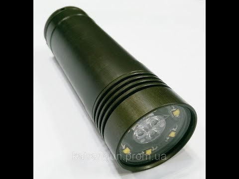 """Самый лучший подводный фонарь """"Днепр"""""""