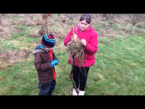 forest school, nature's gifts for us to recreate :-) excelente Zander and Charlotteemily