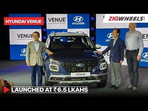 Hyundai Venue 2019 Launched   Price in India vs XUV300, Brezza   ZigWheels.com