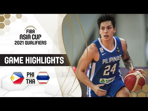 Philippines - Thailand | Highlights - FIBA Asia Cup 2021 Qualifiers