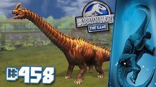 MAXING UP THE BRACASTACKASAURUS!!! || Jurassic World - The Game - Ep 458 HD