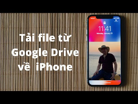 Cách tải file từ Google Drive về điện thoại iPhone