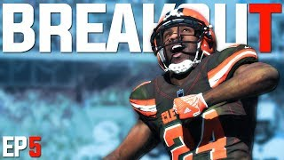 BREAKOUT ROOKIE DOMINATES GAME! Madden 18 BROWNS Franchise | EP5