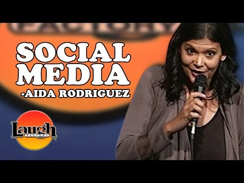 """Stop putting all y'all business on social media!"" (Aida Rodriguez)"