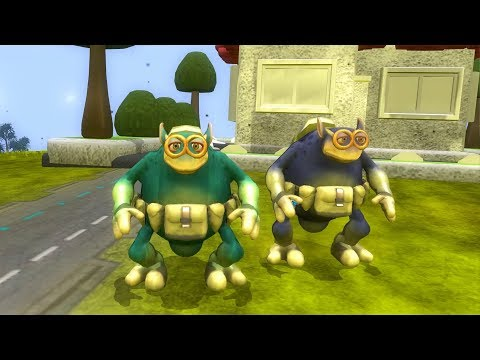 Spore: Galactic Adventures - Clark and Stanley Go To Dinner