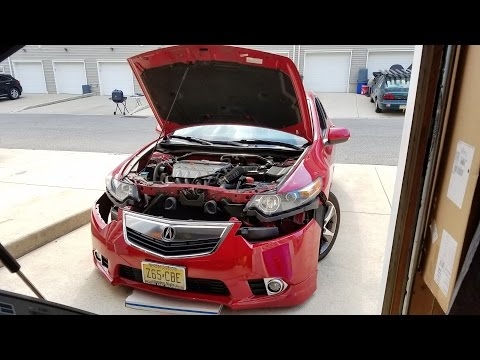 2012 Acura TSX Bumper and Headlight Removal- Vlog #35