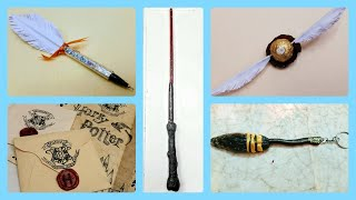 DIY Harry Potter Crafts | 5 magical Harry Potter themed craft tutorial