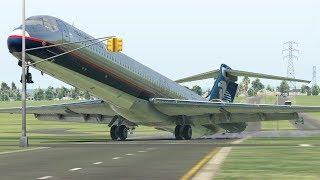 World's Heaviest MD-82 Take Off Attempt | XPlane 11 (4K)