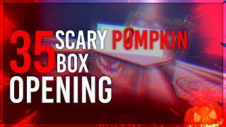 Opening 35 Scary Pumpkin Boxes (Black Squad)