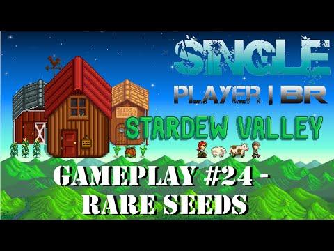 Stardew Valley #24 - Abelhas, Mel, Pato e Rare Seeds (Mercador Itinerante)