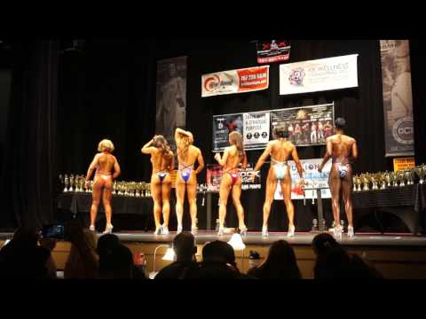 OCB 2017 Bodysculpting Open Womens Figure Open Prejudging