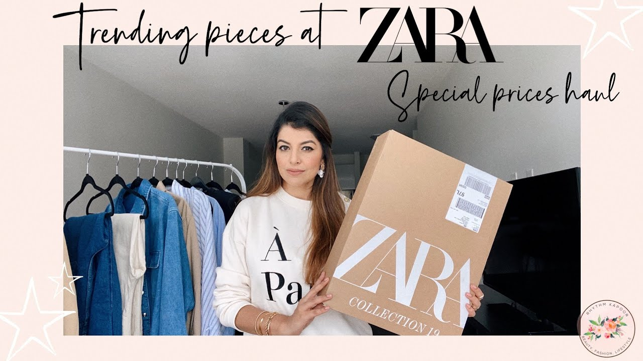 TRENDING PIECES AT ZARA | SPECIAL PRICES ZARA HAUL |