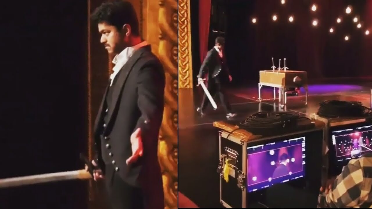 Image result for mersal magic scenes