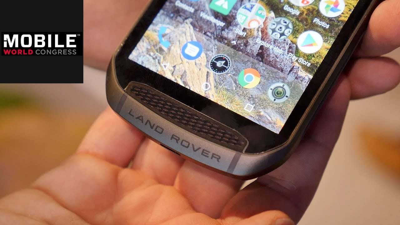 land rover smartphone im praxis test handy f r den mount everest mwc 2018 youtube. Black Bedroom Furniture Sets. Home Design Ideas