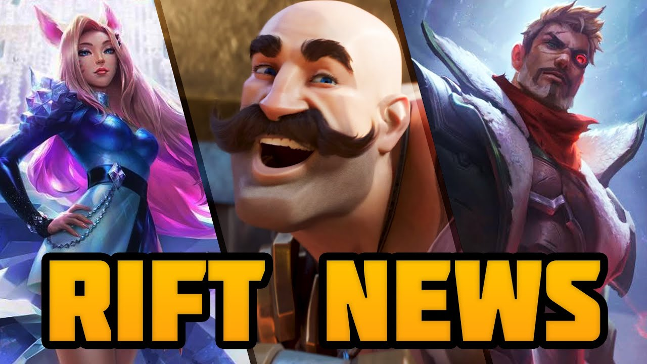 Rift News: KDA Event, Wild Rift Beta & Battlecast Skins