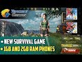 New Survival Game for 1gb and 2gb Ram Phones | Tencent Games : Glorious Mission Review