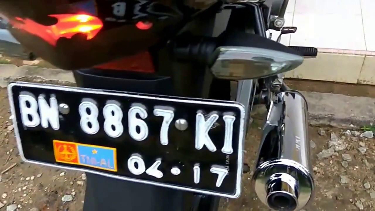 Yamaha Vixion 2013 Modif Knalpot Satria FU YouTube