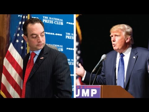 Reince Priebus Basically Says Trump