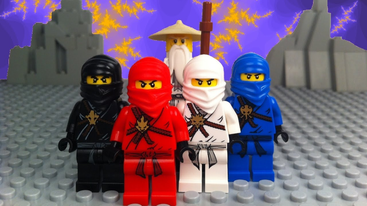 Lego ninjago episode 1 sensei wu vs lord garmadon youtube - Sensei ninjago ...