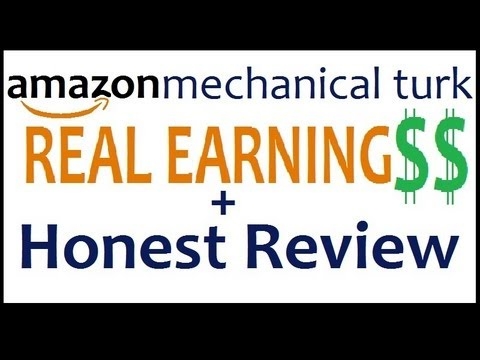 Amazon Mechanical Turk - REAL EARNINGS and Honest Review