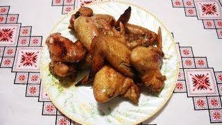 видео Рецепт Курячі крильця з соусом.