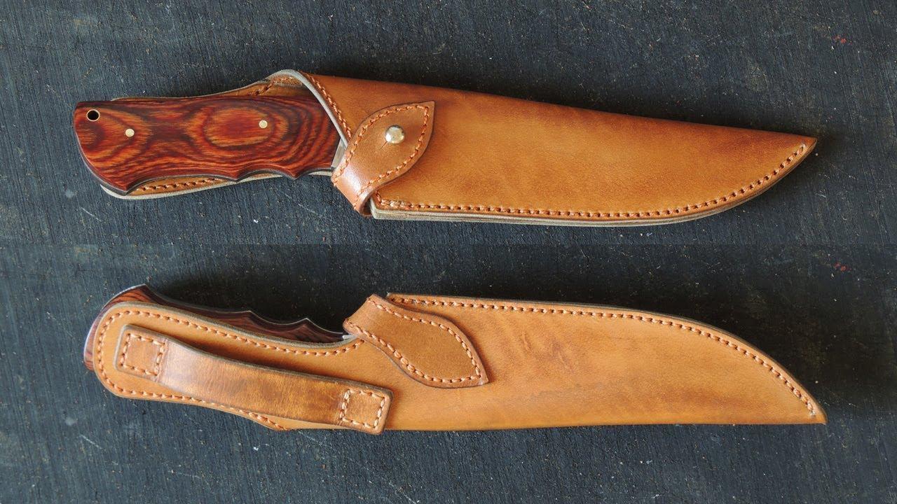 кожаные ножны для ножа самодельные фото требует