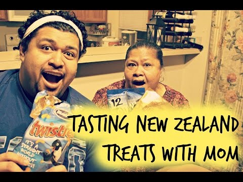 Samoan Americans Tasting New Zealand Treats