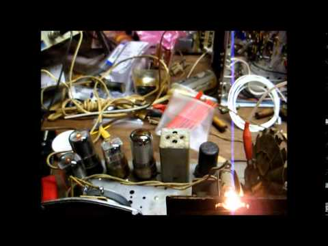 Repair of a General Television AM tube radio from the '40's