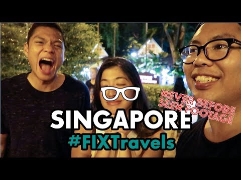 #FIXTravels: Singapore Never Seen Footage!