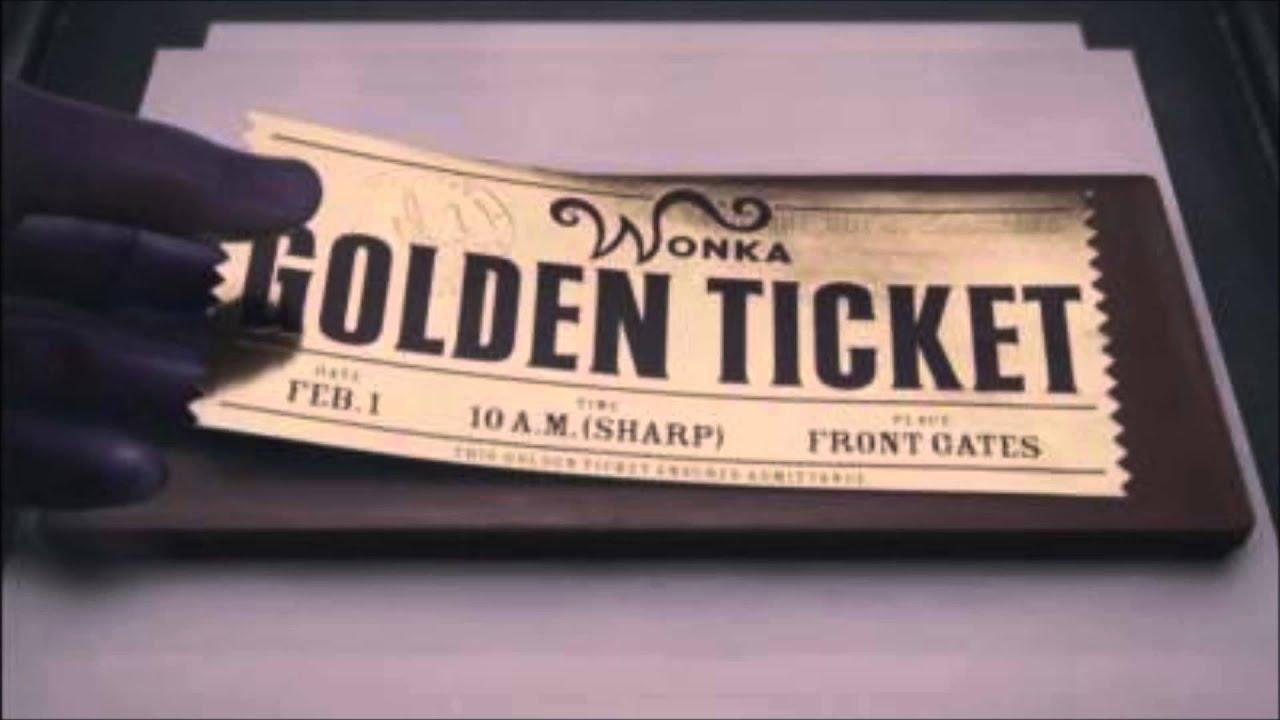 Charlie et la Chocolaterie - Ticket d'or (instrumental version) - YouTube