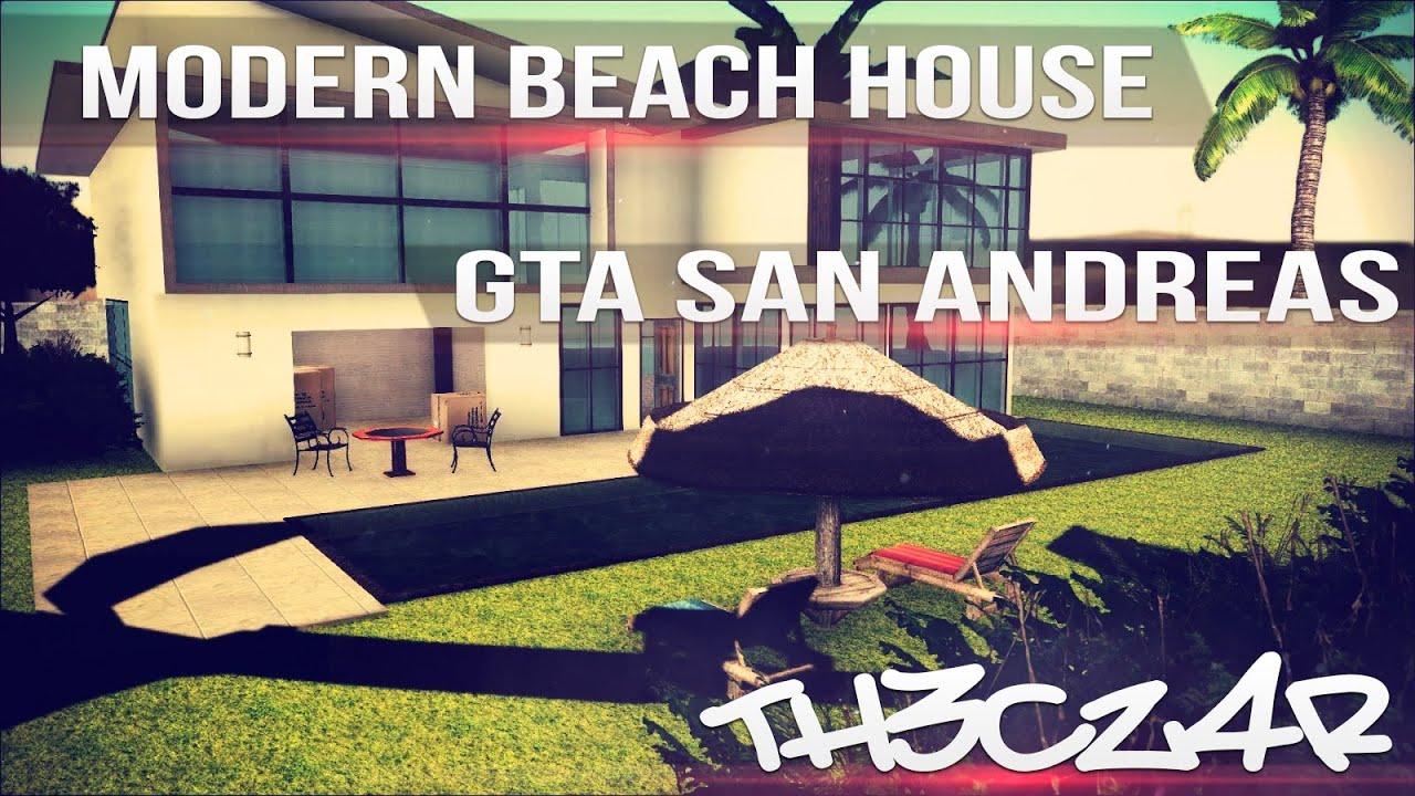 gta sa modern beach house casa moderna en la playa mod ForCasa Moderna Gta Sa