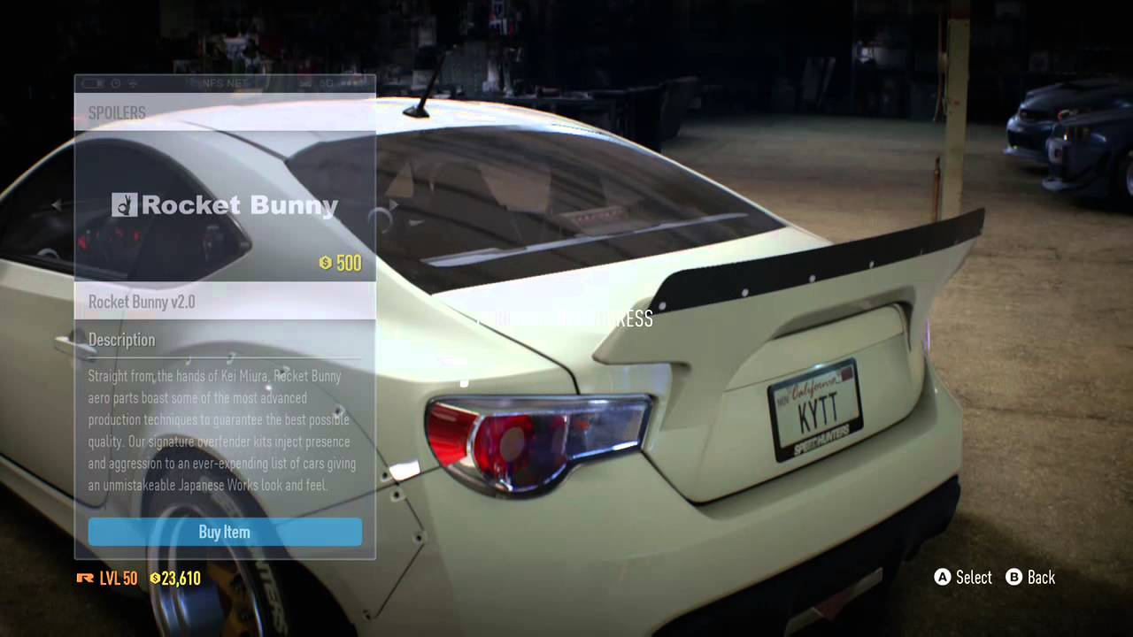 Subaru BRZ Customization | Need for Speed (2015) - YouTube