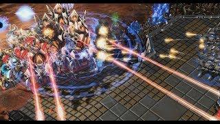 EPIC - Heromarine (T) v Neeb (P) on Kairos Junction - StarCraft2 - Legacy of the Void 2018