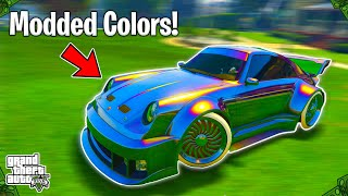 The Top 5 BEST Crew Colors In GTA 5 Online! (Bright Colors,Rare Colors, & More!)