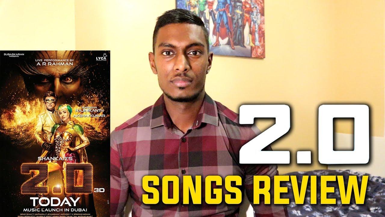 2.0 Songs Review & Reaction | Rajinikanth, Akshay Kumar | A.R. ...