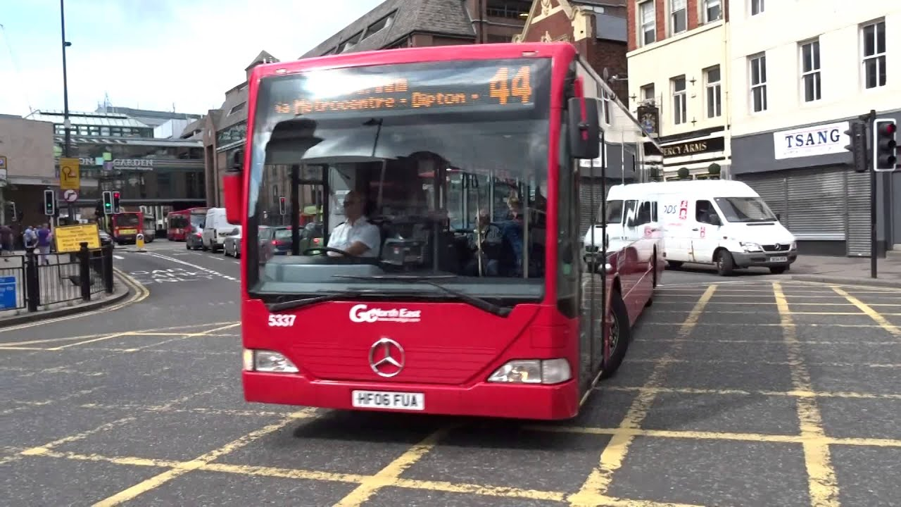 Buses Go North East Eldon Square 11th July 2015 You