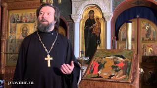 Протоиерей Николай Чернышев об иконе Воскресения Христова